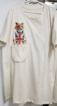 Kids 'British fox' pocket tee